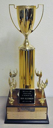 Don Klusman conservation trophy