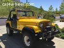 1987 JEEP CJ7  RENEGADE