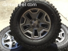 5 Wheels from 2015 JKU Rubicon Excellent condition