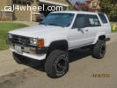 FOR SALE  '87 4Runner SR5