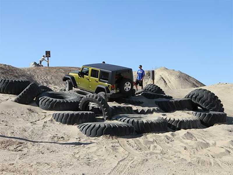 ODF Tire Obstacle