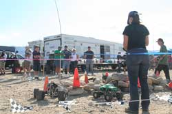 RC rock crawlers at ODF