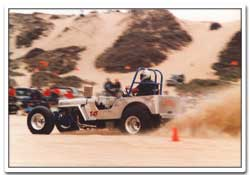 The sand drags at Maidenform Flats in Pismo in the early 1980s