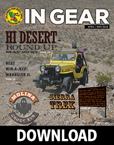 Download the April/May 2018 edition of the In Gear