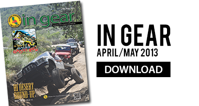 Download In Gear for April/May 2013