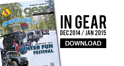 December 2014/January 2015 In Gear. Click to download your copy.