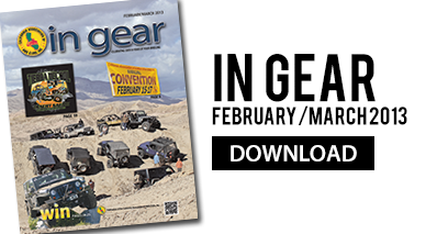 In Gear February/March 2013
