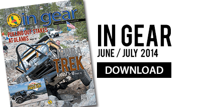 Download the June/July 2014 edition of the In Gear magazine