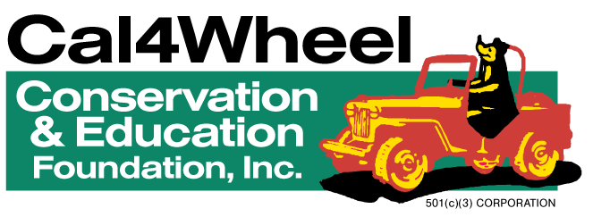 Cal4Wheel Conservation & Education Foundation logo