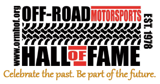 Off-Road Motorsports Hall of Fame logo