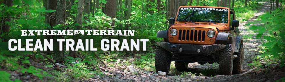 Trail grants are available from ExtremeTerrain