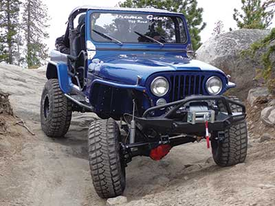 Jack Chapman in his 1984 CJ7