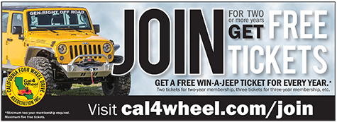 Renew for two or more years and get free Win-A-Jeep tickets