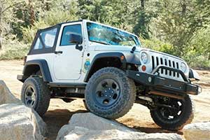 Win this brand new Jeep