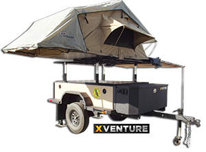 XVenture off-road trailer donated by Schutt Industries.