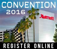 Register online for Convention 2016