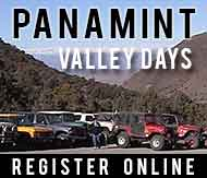 Register online for Panamint Valley Days