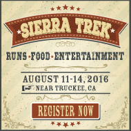 Register online for Sierra Trek