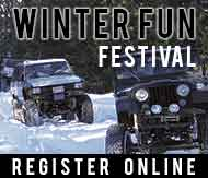 Register online for Winter Fun Festival