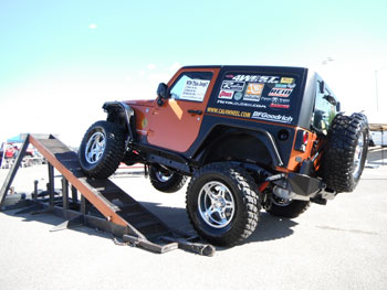 Win-A-Jeep 2012 on RTI ramp