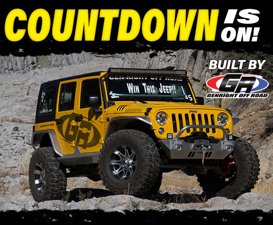 We're giving away this Jeep on February 20, 2016